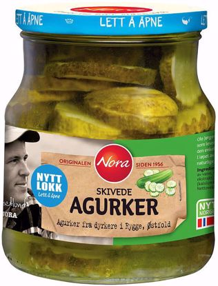 Picture of AGURKER SKIVEDE 580G
